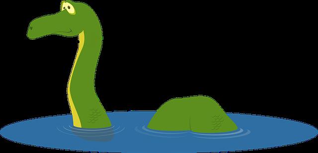 dinosaurus ve vodě