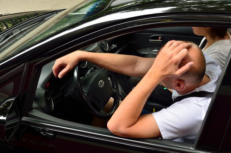 problémy za volantem