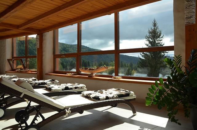 Relaxační prostor s výhledem