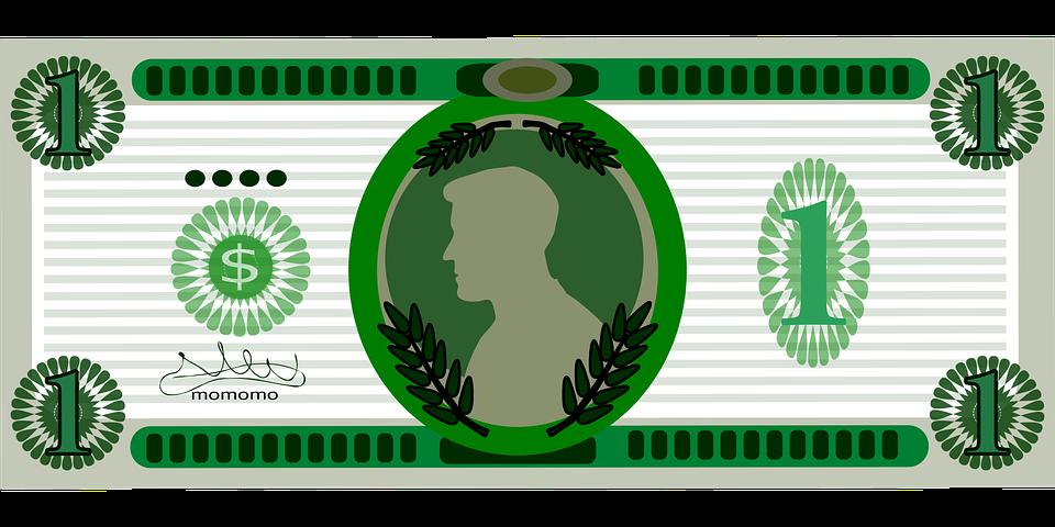 kreslené dolary